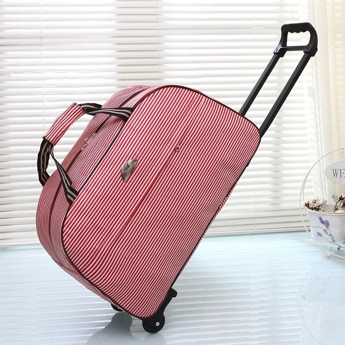 2019款旅行折叠收纳袋手提帆布包可套拉杆行李箱大容量短途