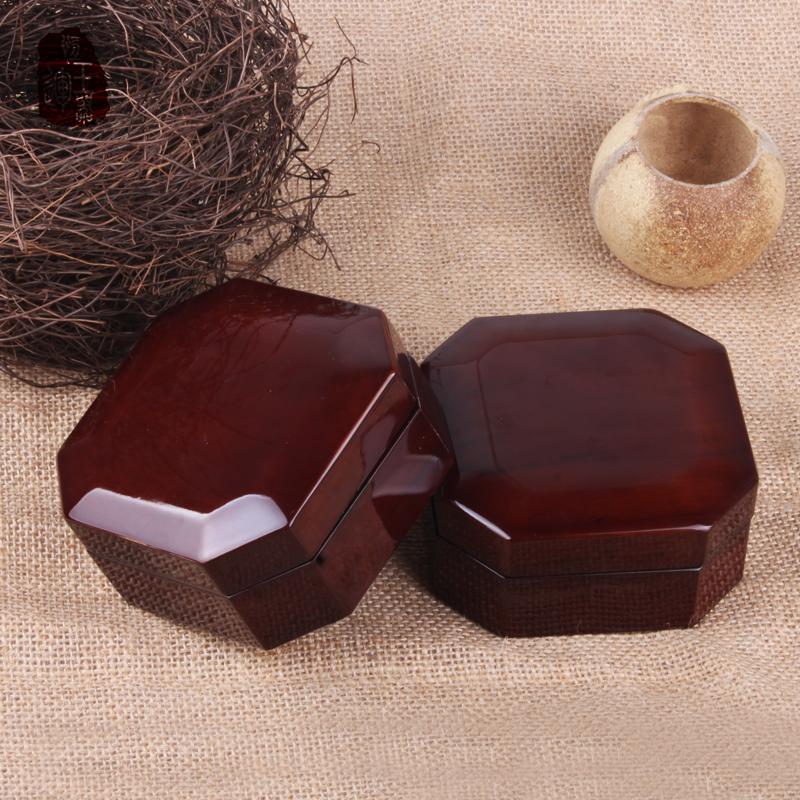 高档高档手镯盒木质首饰品手链佛珠手串翡翠玉器礼物盒子实木定制