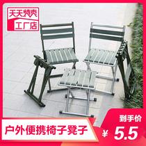 钓鱼折叠椅子凳子便携户外装备马扎美术生靠背小板凳出口地铁神器