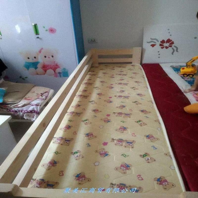尚品宜家具のシングルベッドとベッドのダブルベッドの延長ベットの子供用ベッドのガードレールをカスタマイズし、赤ちゃんのベッド合わせを行う。