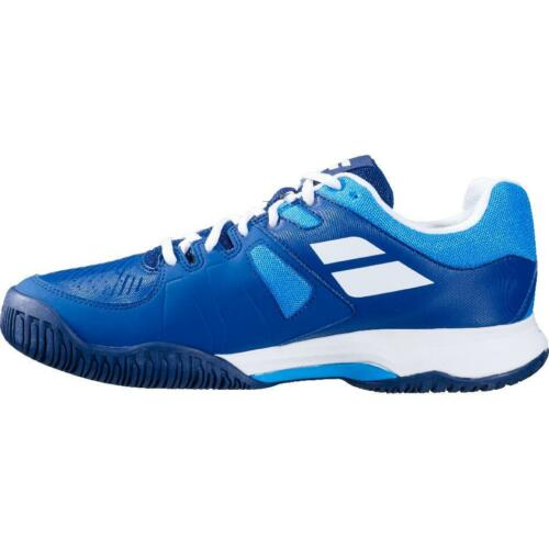 Purchase Babolat advance court all mens tennis shoes sports shoes blue