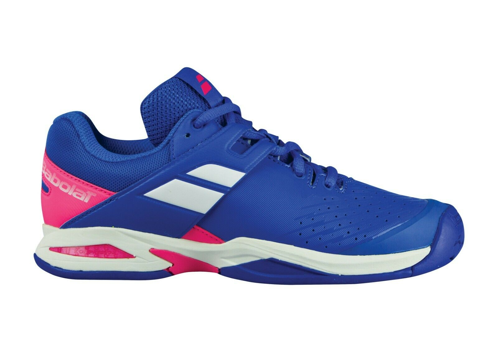 Babolat propulse AC youth tennis shoes shoes blue pink