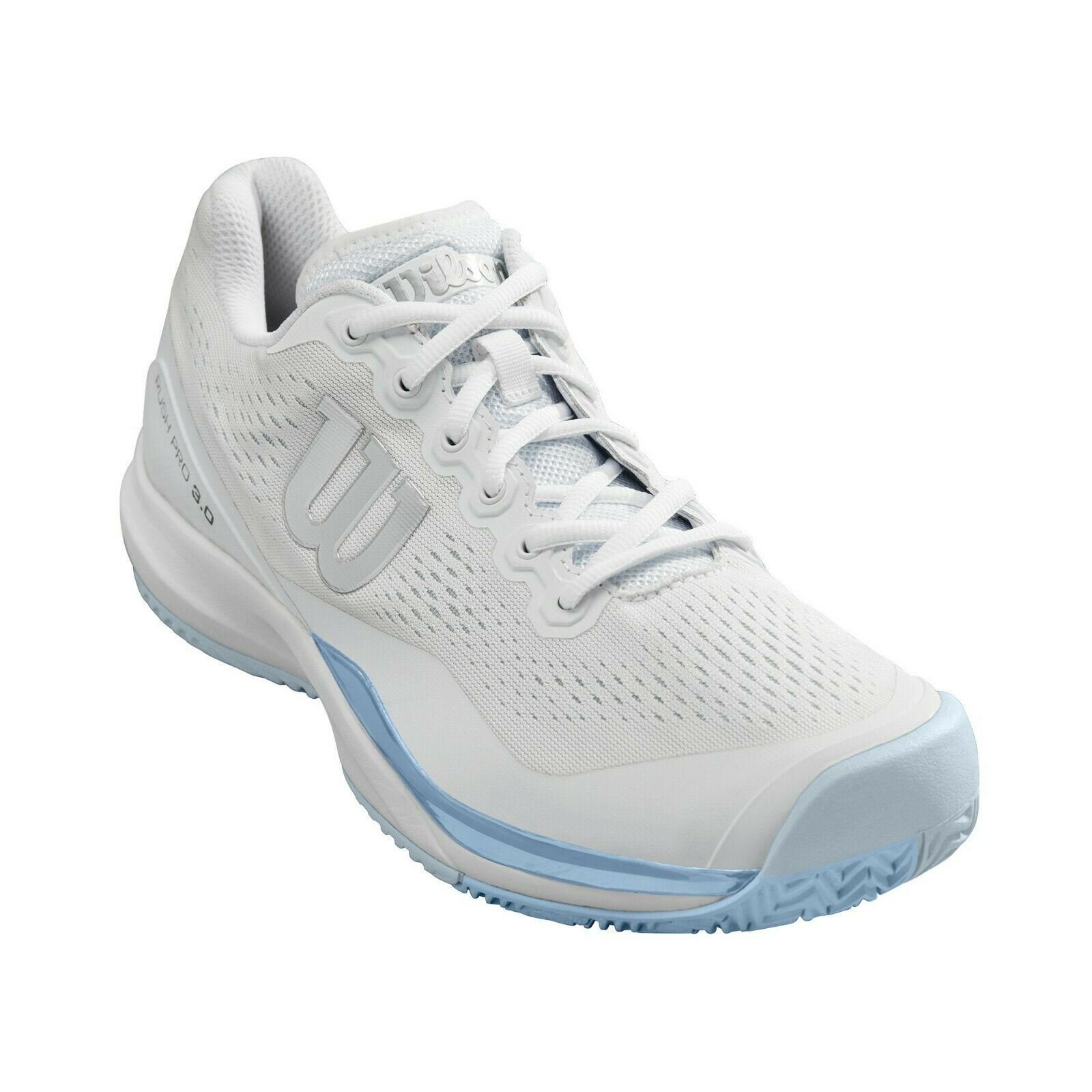 Purchase of Wilson Willson rush Pro 3.0 womens tennis shoes in white and blue