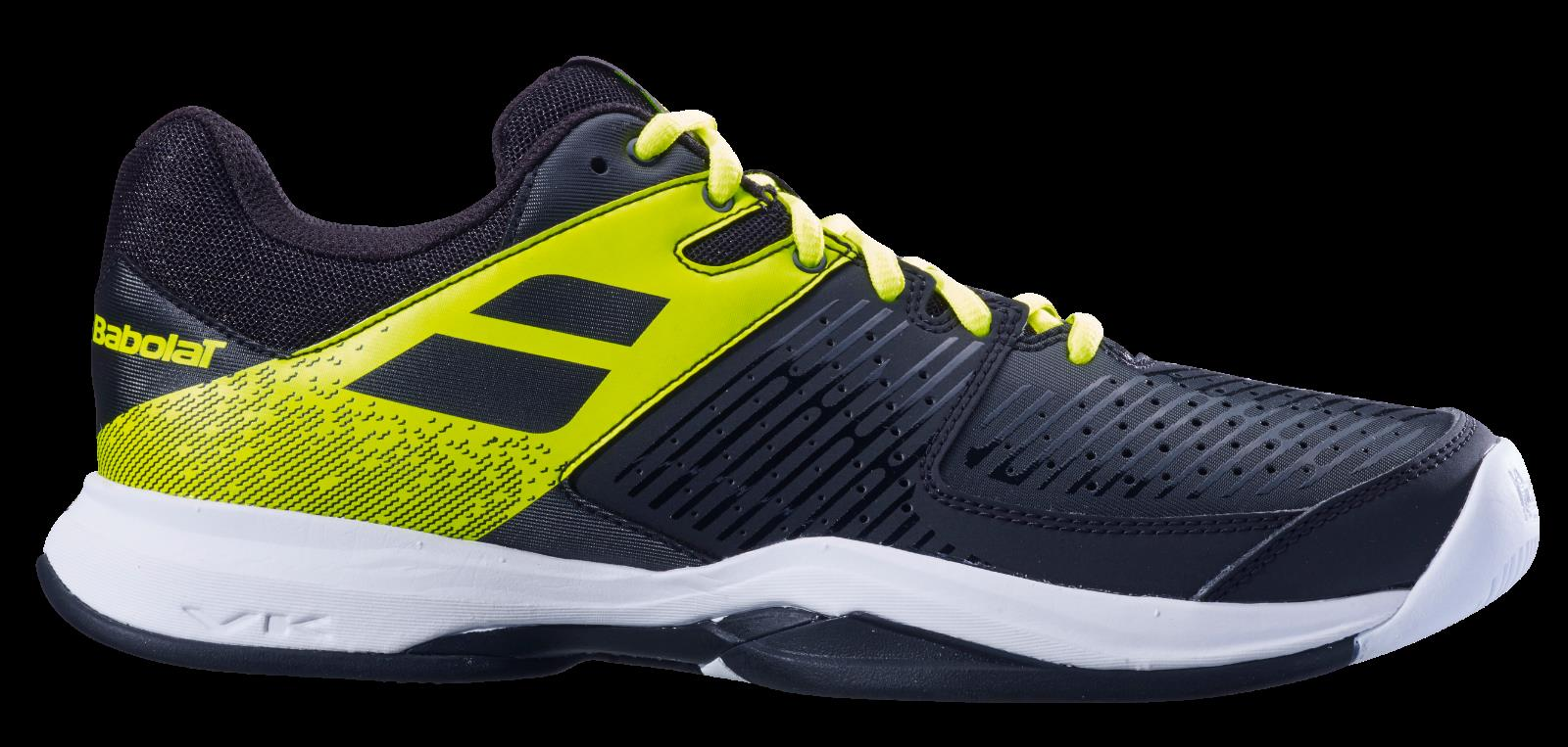 Purchase Babolat propulse AC mens tennis shoes black yellow