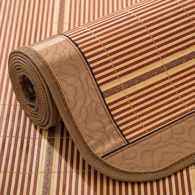 夏季凉席竹席子空调房折叠双人1.8x2.0X2.2m/2*2.3/2.5米床单式