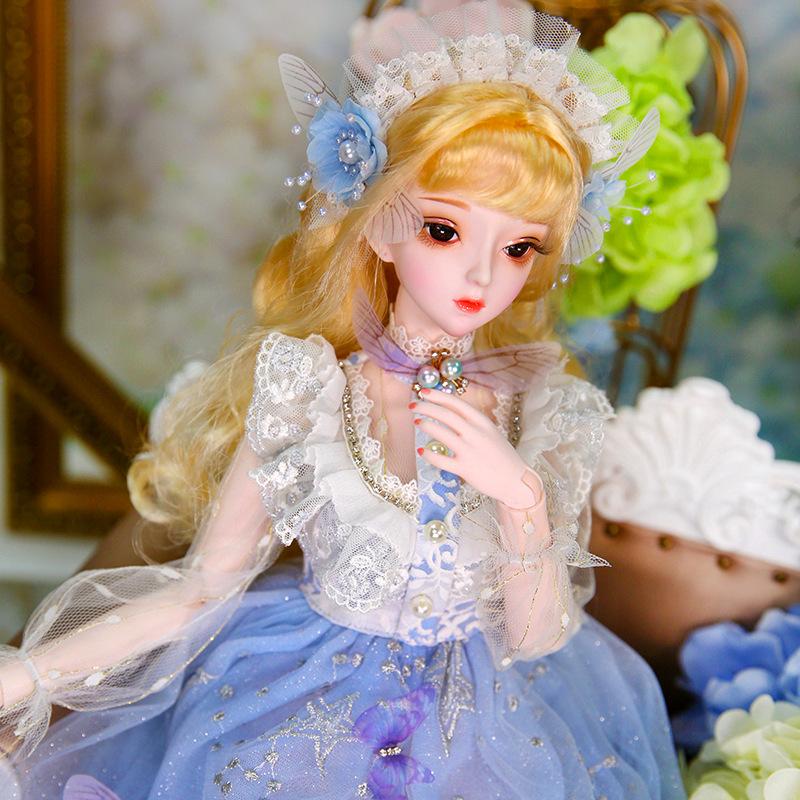 Yugong dieyinde pizza doll 60cm refitting BJD doll birthday gift girl creative toy
