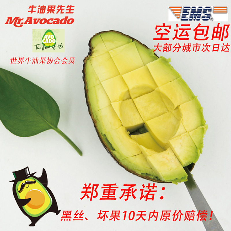 mr . avocado牛油果先生即食包装