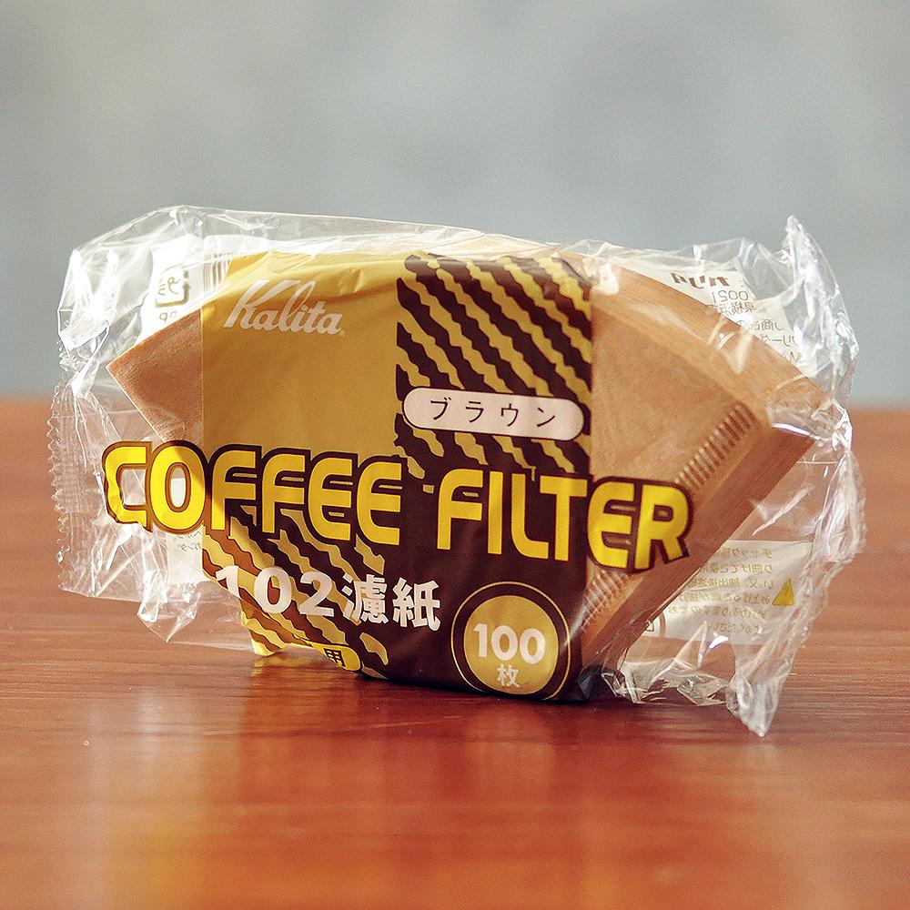 日本原装进口Kalita咖啡滤纸无漂白 美式咖啡机 手冲壶滤杯过滤纸满15.00元可用1元优惠券