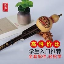 专业小学生儿童防摔演奏型玩具六孔c调a葫芦丝乐器初学者胡卢丝
