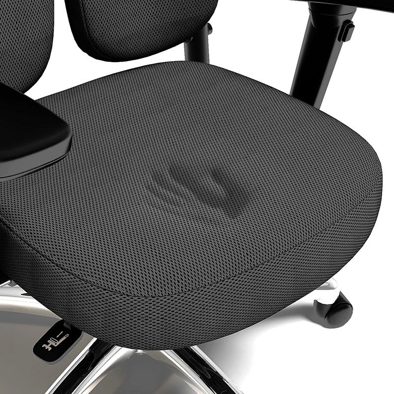 正品普格瑞司电脑椅 老板椅人体工学椅健康舒适办公转椅家用双背