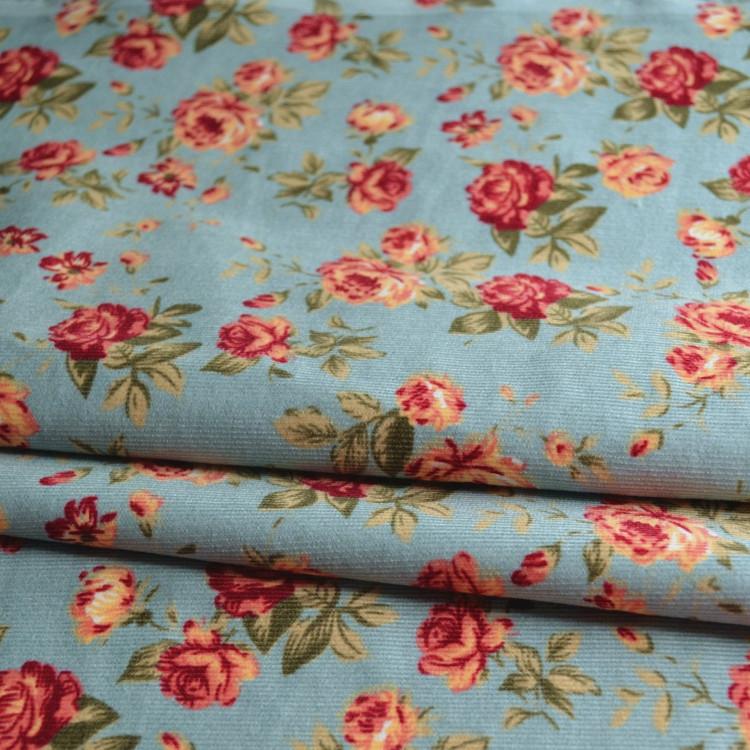 Сад Ветра старинный маленький ребенок рубашки Вельвет платье ткани хлопчатобумажные ткани также подходят для мягких