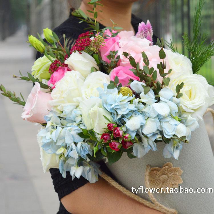新款�r花抱抱筒,潮到爆的�r花�Y品,女王范的花筒,新�r花材�O�
