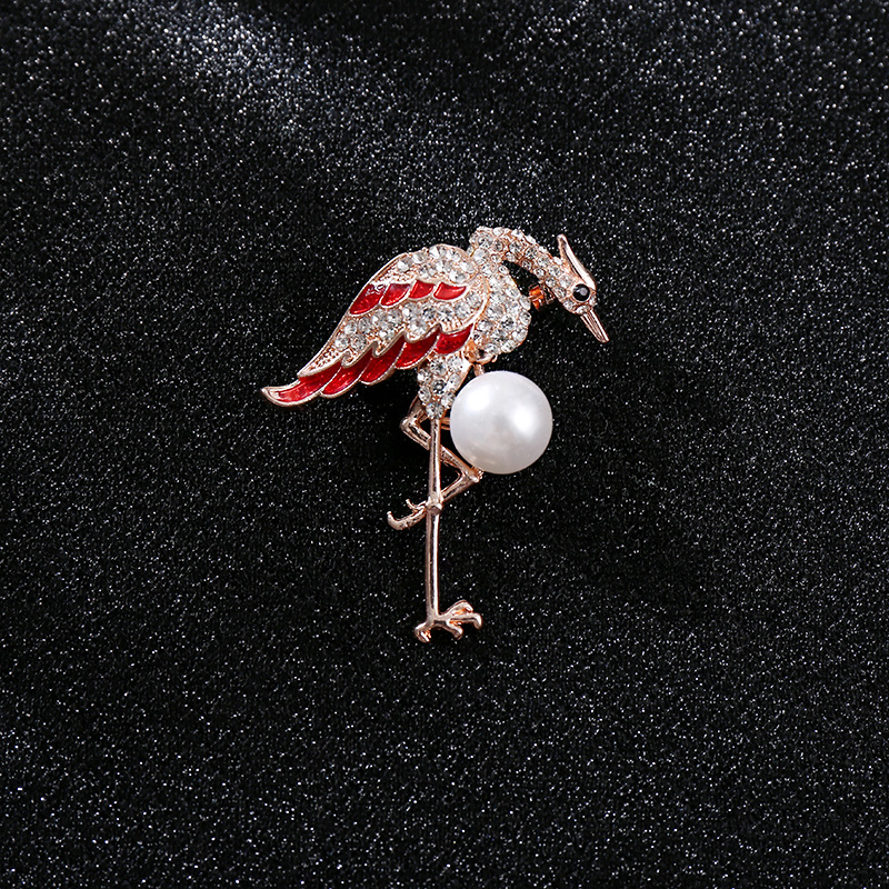 Cute little pin Korean ins high-grade Brooch fixed clothes anti light buckle simple Japanese Brooch female