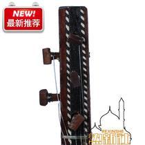 新疆乐器维吾尔族弹拨尔手工l制作本土民族乐器