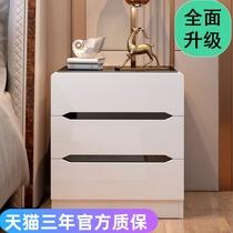 宽小型迷你卧室床边柜夹缝收纳小柜子25cm20欧式超窄实木床头柜