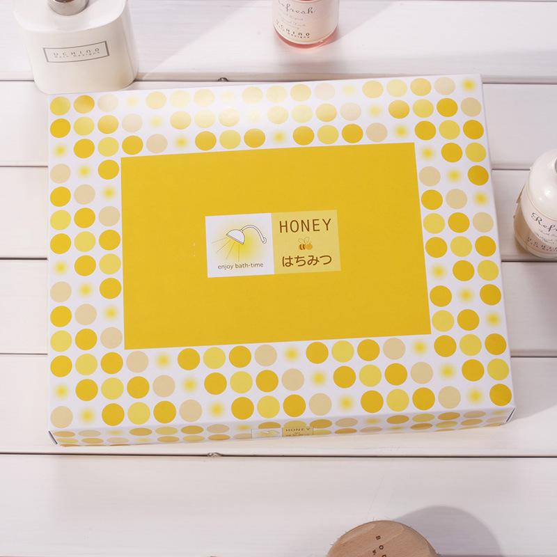 内野UCINO小7件套毛巾礼盒 创意毛巾 情侣 教师节 礼物礼品