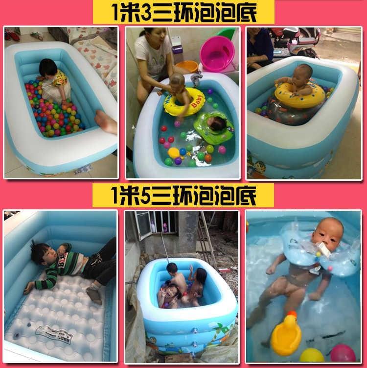 热销0件包邮儿童玩具球池海洋球围栏长方形充气筒婴儿游泳沙池圆形游乐场泳池