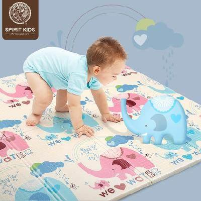 【人气特批!】sk 爬行垫加厚可折叠环保垫游戏毯爬爬