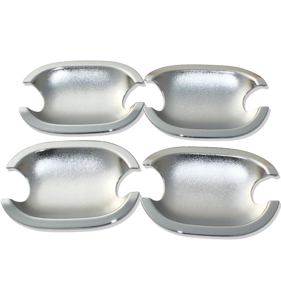 汽車ABS電鍍門把手門碗貼 門碗護蓋外門護套 拉手保護貼改裝