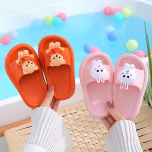 夏男童室内家用洗澡卡通儿童拖鞋