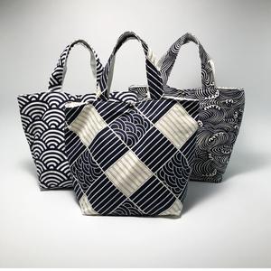 包包女2021新款ins手提包 大容量百搭手拎包女生饭盒便当包布袋子