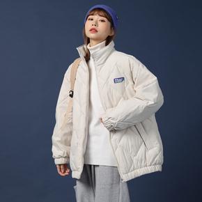 棉服2020年新款女加厚棉袄ins港风原宿羽绒服中长款棉衣冬季外套