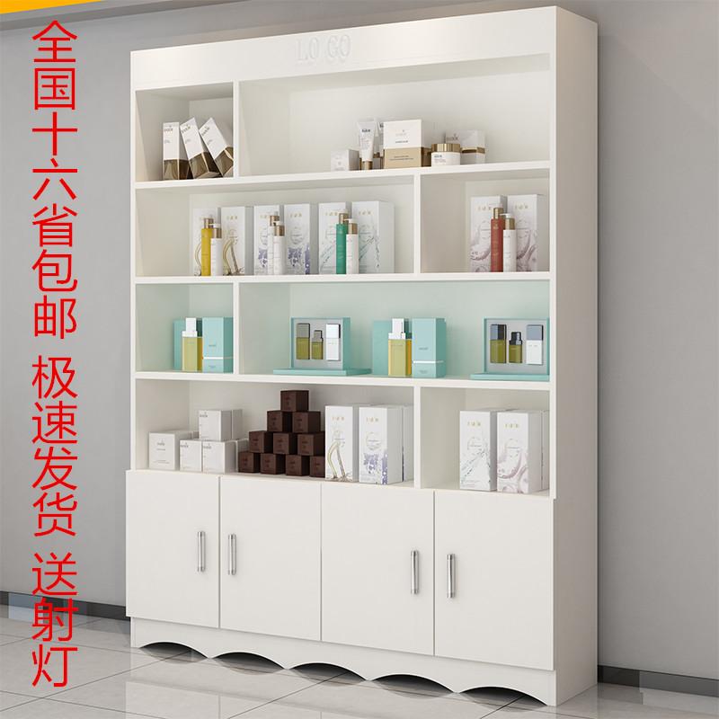化妆品展示柜货柜美甲柜子置物架多层美容院产品陈列柜货架展示架