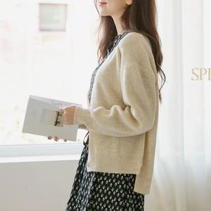 毛衣外套女春秋装2020新款秋冬季显瘦短款长袖外穿针织衫开衫上衣