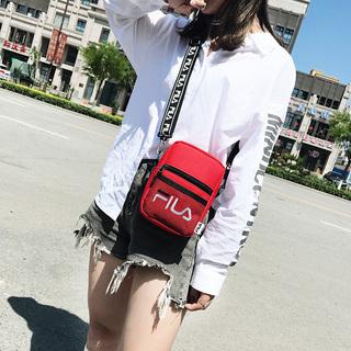 小包包女韩版夏季网面运动休闲男女单肩斜挎包情侣手机包帆布包潮