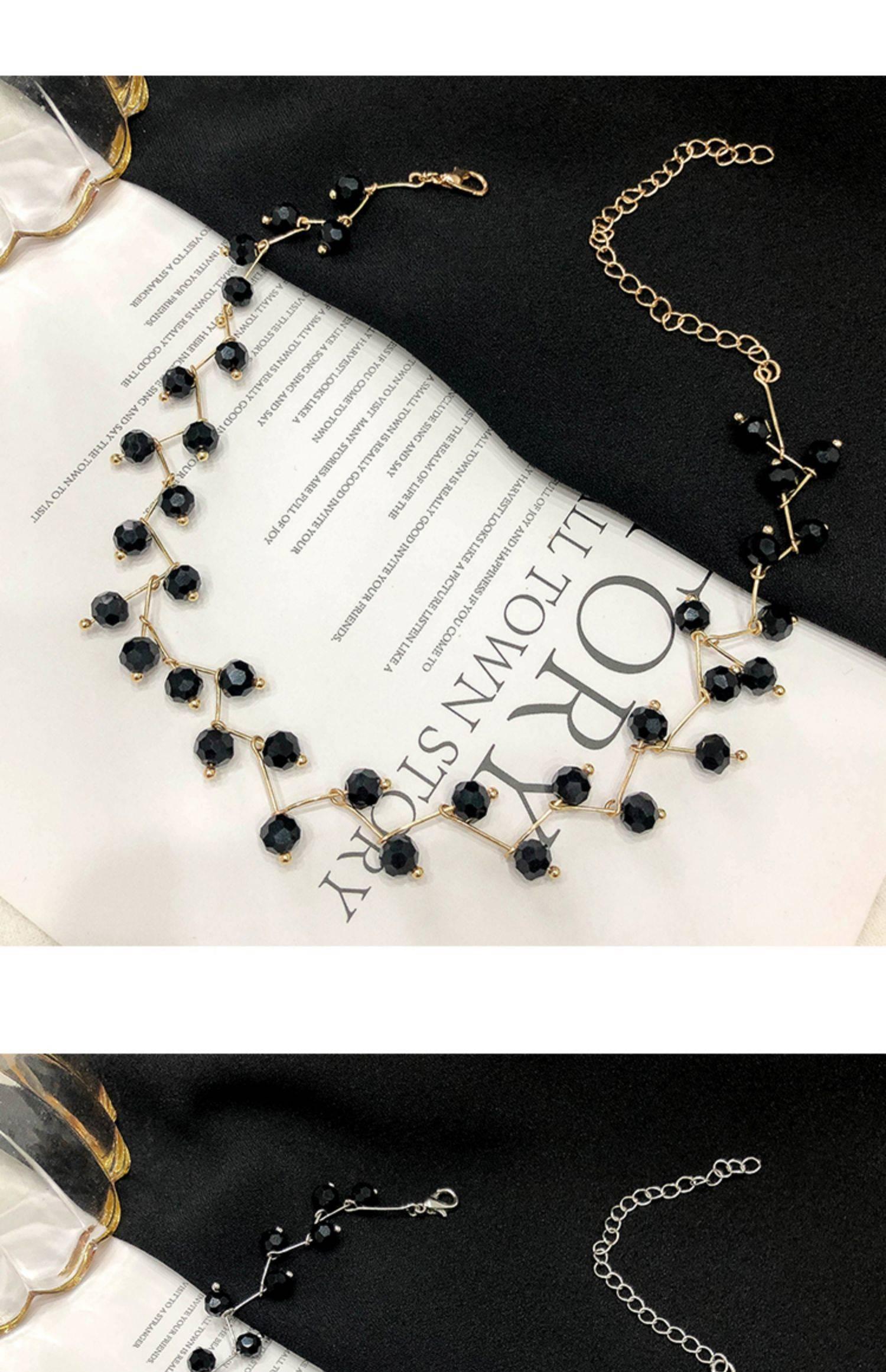 ロリネックレス女性の多くの鎖骨チェーン真珠の個性がシンプルなネックレスです。