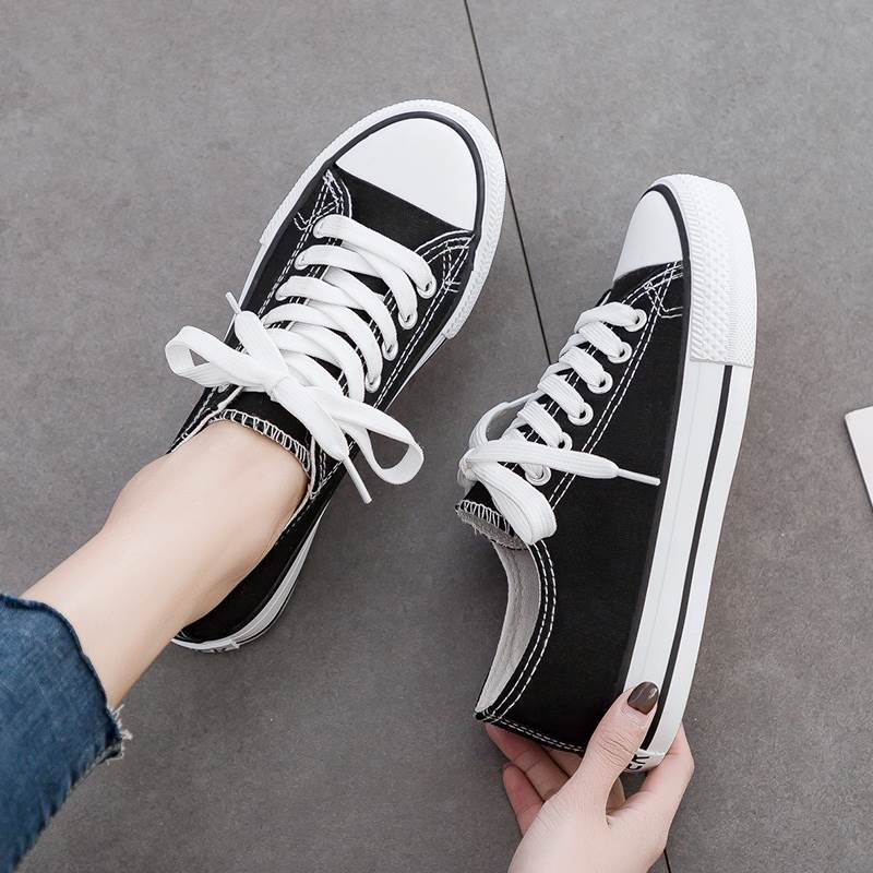 Shoes for women students board shoes for Korean version travel light personality lazy mesh walk low top super soft loose shoes for women