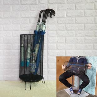 门后雨伞架家用欧式北欧置物架摆放收纳筒办公落地伞具架子新款桶价格