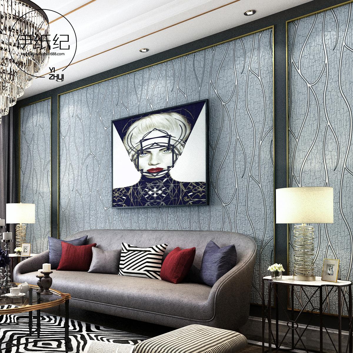 床头壁纸贴纸墙壁贴北欧装饰小清新简约学生复古奶茶店寝室饭店