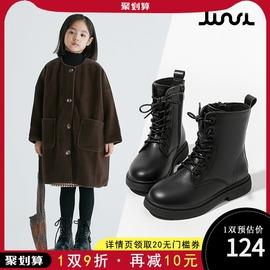 女童鞋儿童马丁短靴子真皮2020年新款冬季洋气网红秋冬款加绒冬鞋