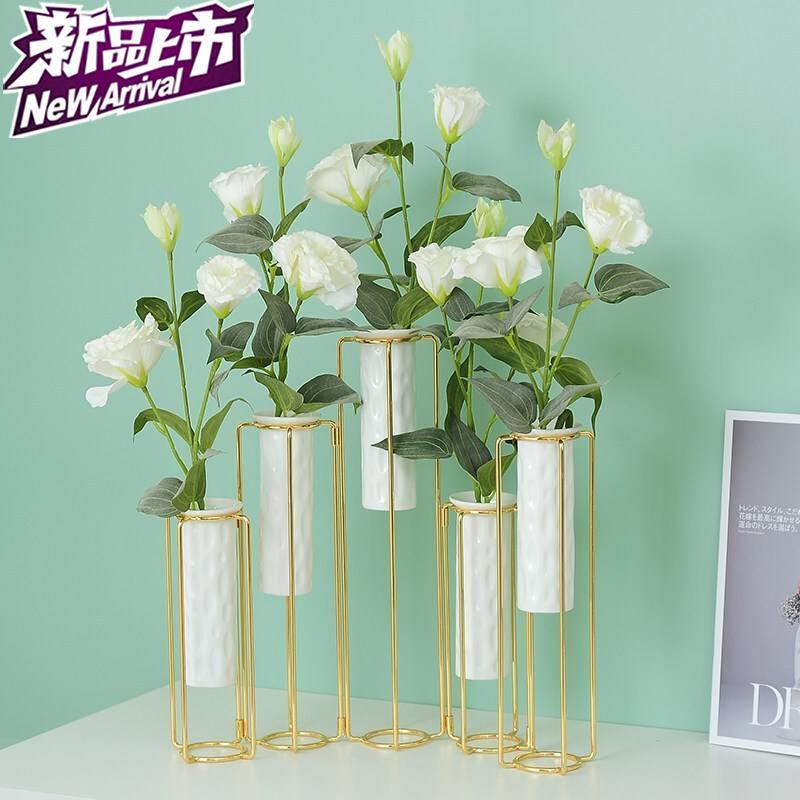 折叠花瓶现代简约客厅电r视柜酒柜装饰摆件室内家居饰品创意轻奢