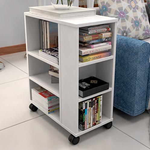特价移动书架儿童书柜学生落地柜储物柜收纳架带轮置物架沙发边几