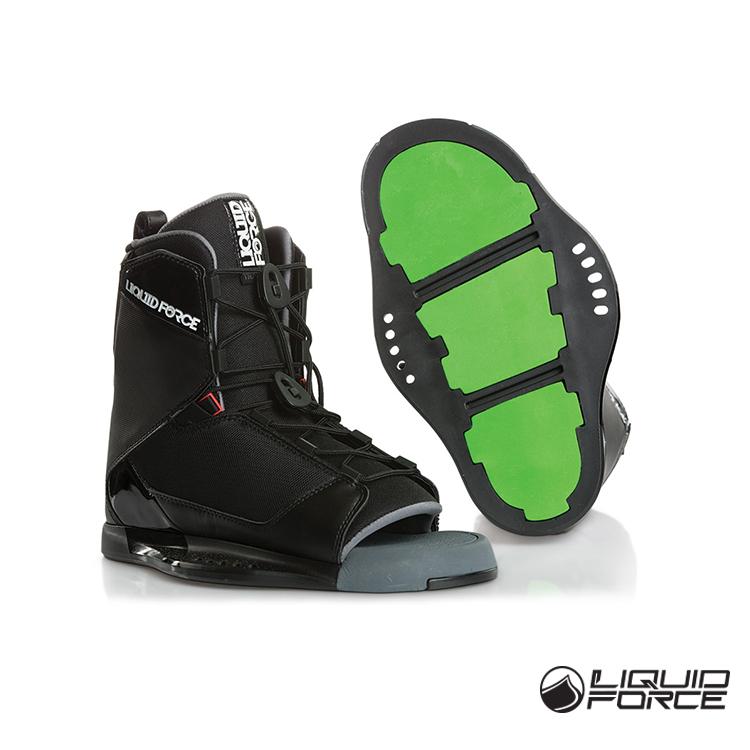 18 Соединенные Штаты Америки LIQUIDFORCE мужской стиль Водяная обувь TRANSIT хвост волна панель Открывание слайдера на лыжах