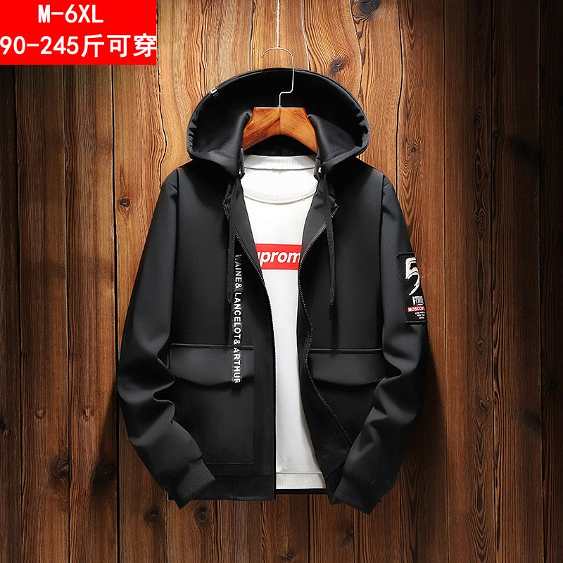 Mens earthy coat fattening up fat clothes fat mens clothes oversized oversized Baseball Jacket for fat people