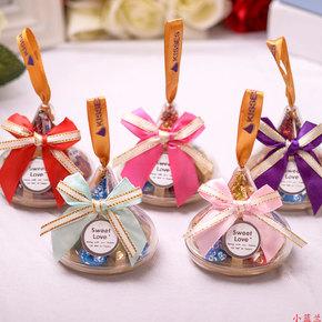 好时kisses巧克力喜糖盒成品含糖结婚喜庆满月婚礼创意糖果回礼盒