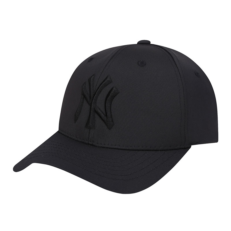 Korean MLB Baseball Cap Yankees NY Black Full Cap