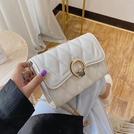 夏季流行女士包包2020网红新款潮韩版时尚百搭斜挎ins链条小方包图片