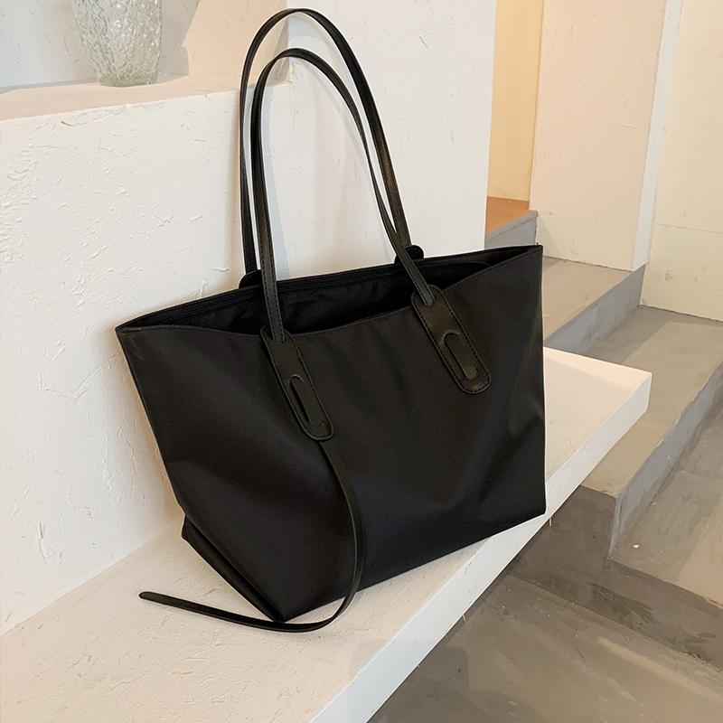 上新大容量女士包包2020新款潮时尚单肩托特包百搭简约休闲手提包