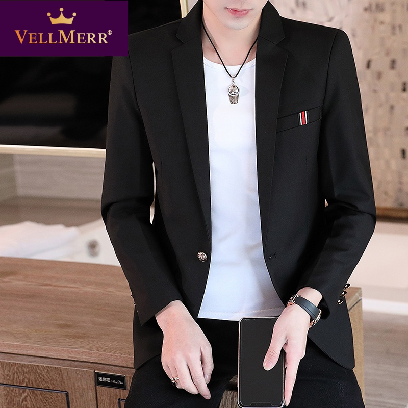 2020 casual suit mens suit Korean version slim trend mens casual Western spring coat hy0923