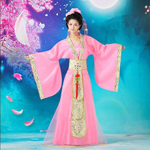 Huahui Female Clothing Film Studio Ancient National Stage Princess and Imperial concubine portrait Tang Dress Han Dress Ancient Dress Fairy