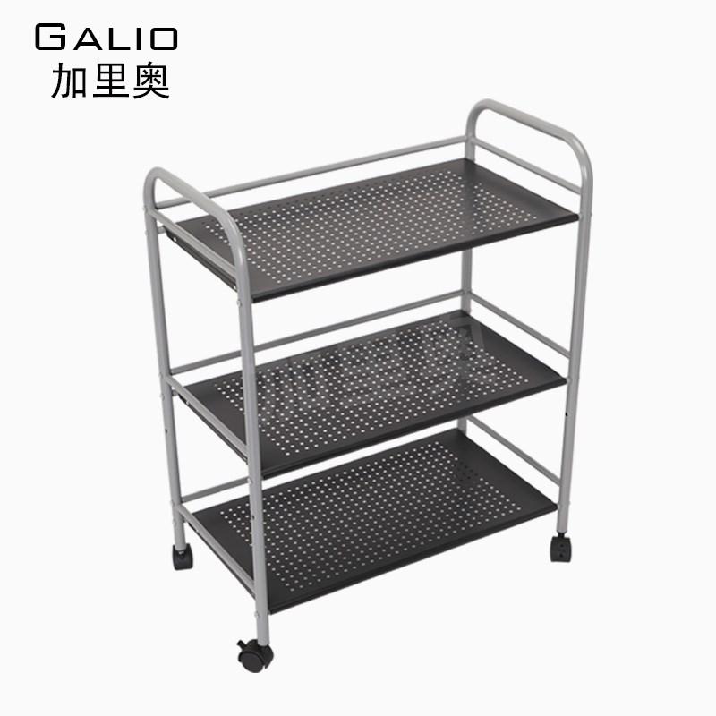 厨房置物架落地浴室收纳整理不锈钢微波炉架火锅店串串菜架层架