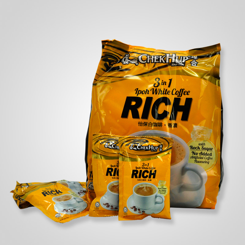 Chekhup espresso White Coffee King imported from Malaysia original three in one instant coffee powder 600g