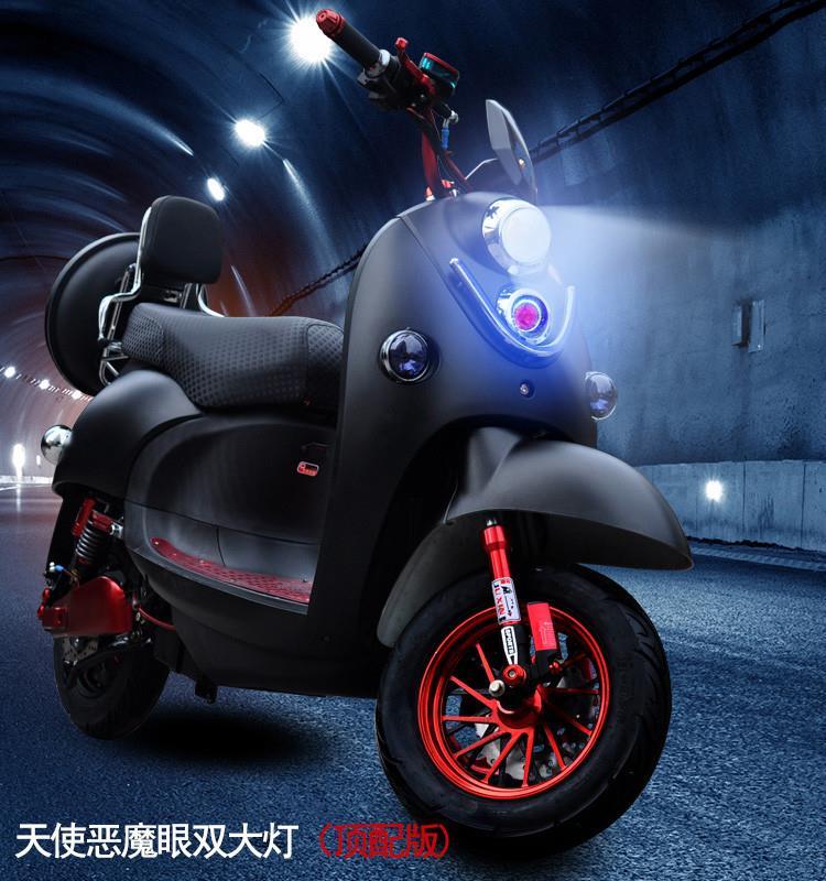 (用2349元券)。成人电动摩托车72v60v踏板电摩长跑王外卖取出电瓶充电双人成人