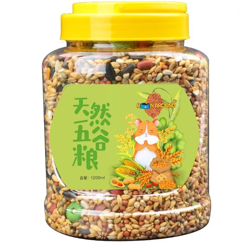 [天空之城百货饲料,零食]综合仓鼠粮宠物小仓鼠用品主粮食饲料金yabo22889件仅售129.96元
