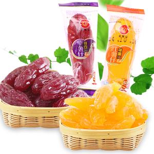 蜂蜜紫薯仔红薯仔500g小包装水晶番薯仔紫色地瓜干福建特产