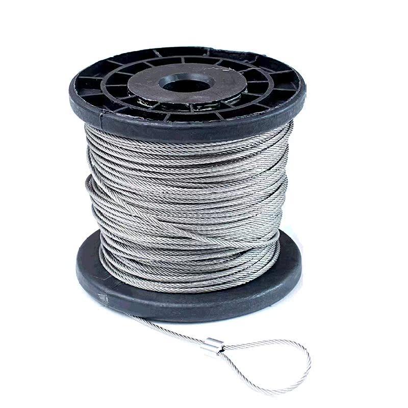 中码拉索外用旗杆升降晾衣架钢丝绳加粗模具缆绳室内工具威亚吊物